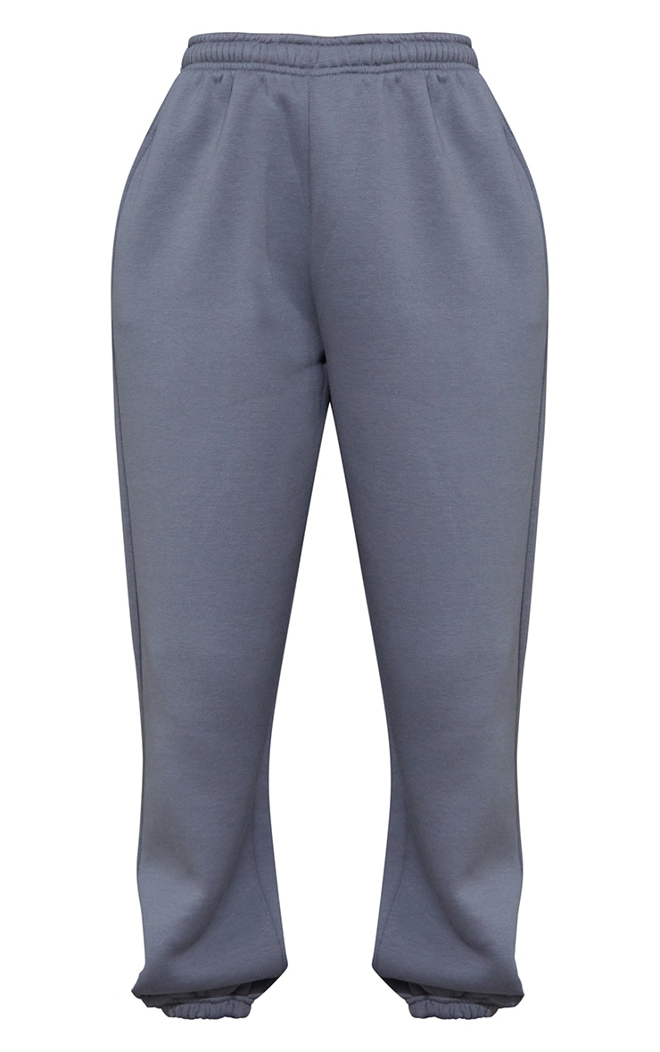 Charcoal Blue Casual Joggers 5