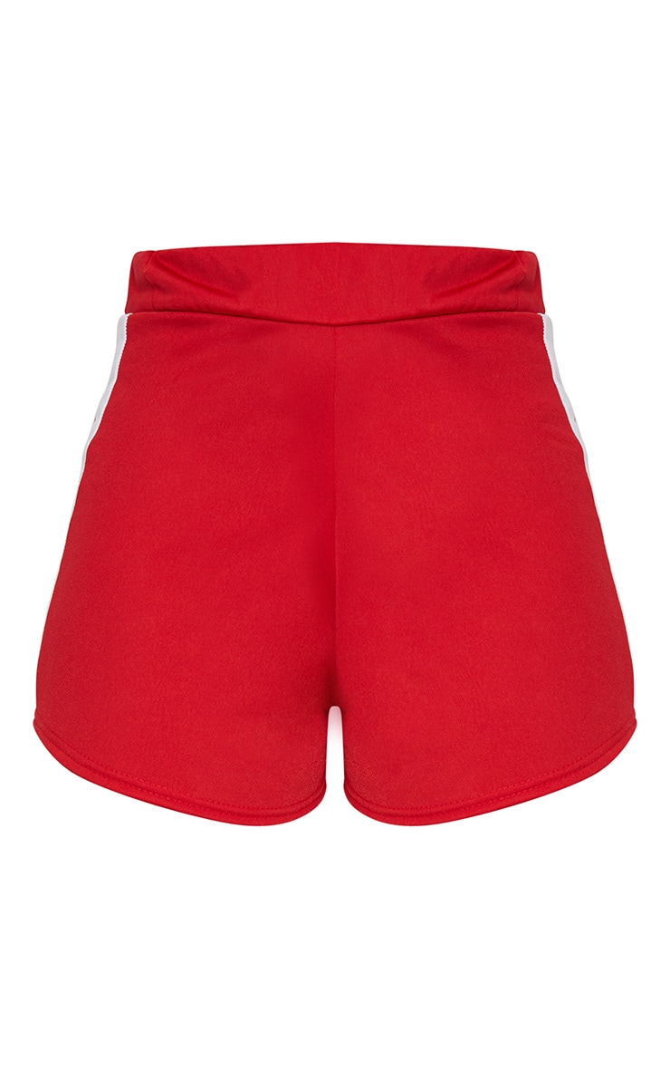 Red Tracksuit Shorts 3