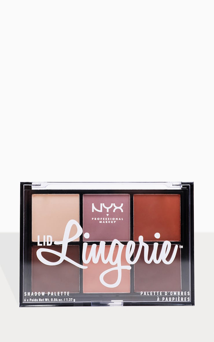 NYX Professional Makeup Lid Lingerie Shadow Palette  3