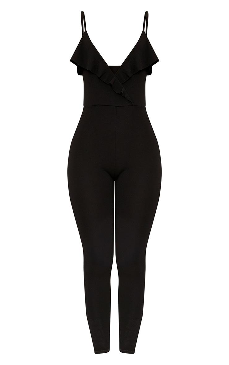 Biancah Black Ruffle Jumpsuit 3