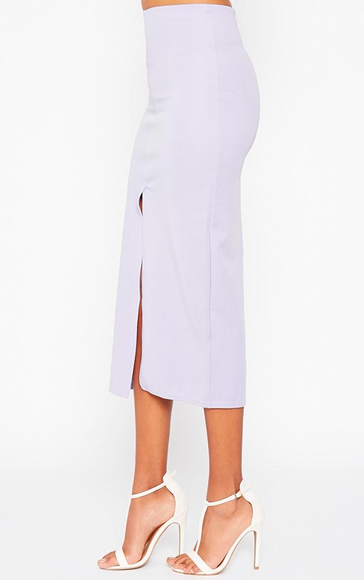 Kaja Lilac Scuba Split Skirt 4