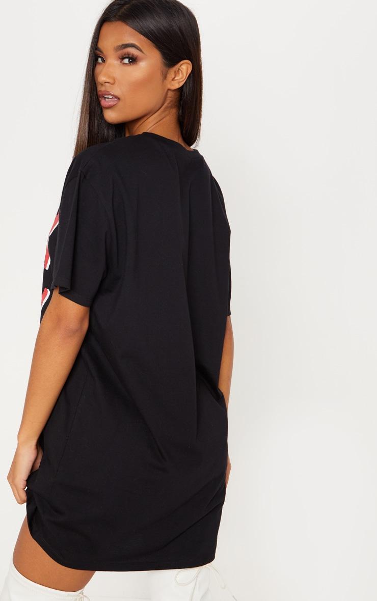 Young Thug Black Oversized T Shirt Dress 2