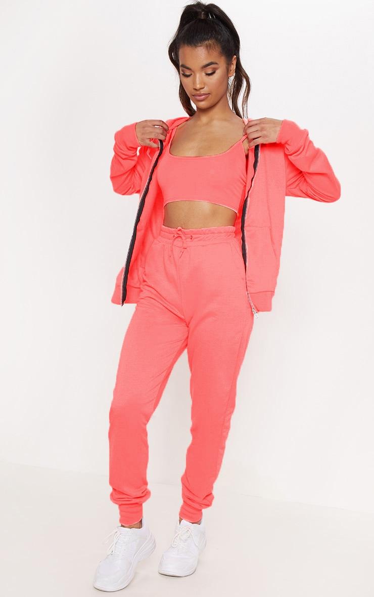 Pink Basic Gym Sweat Jogger 1