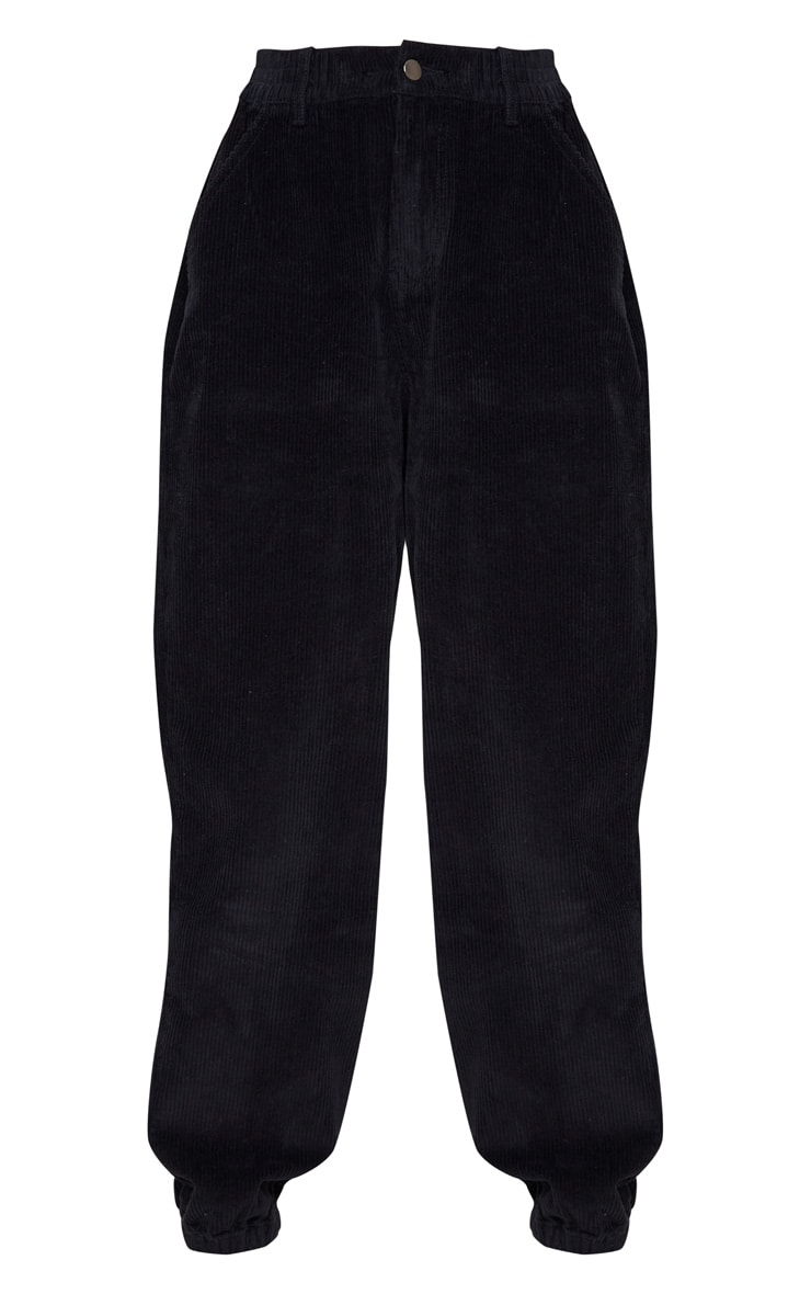 Black Cord Balloon Jeans 3