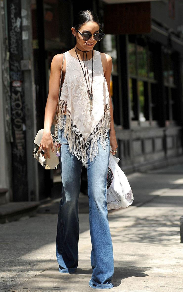 Billie Light Wash Flared Jeans 2
