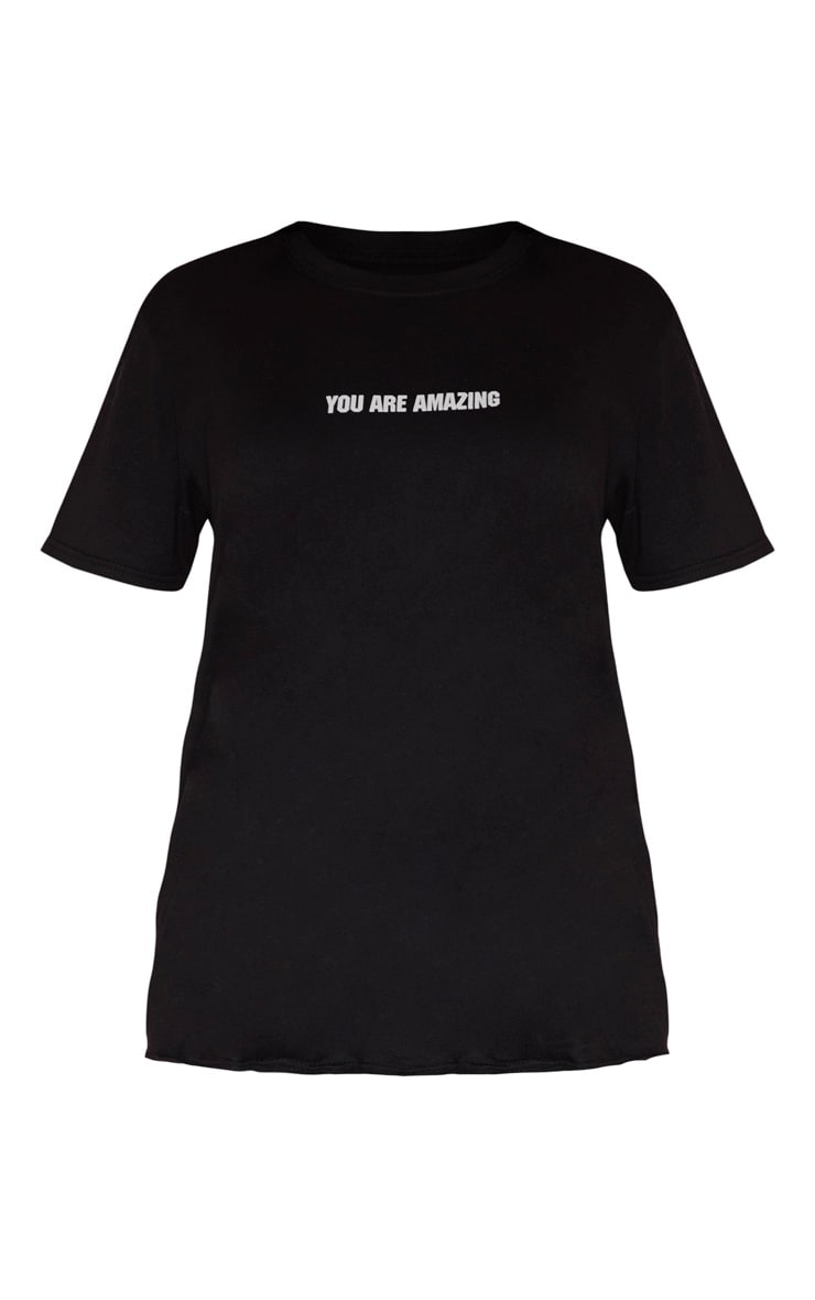 YOU ARE AMAZING Black T Shirt 3