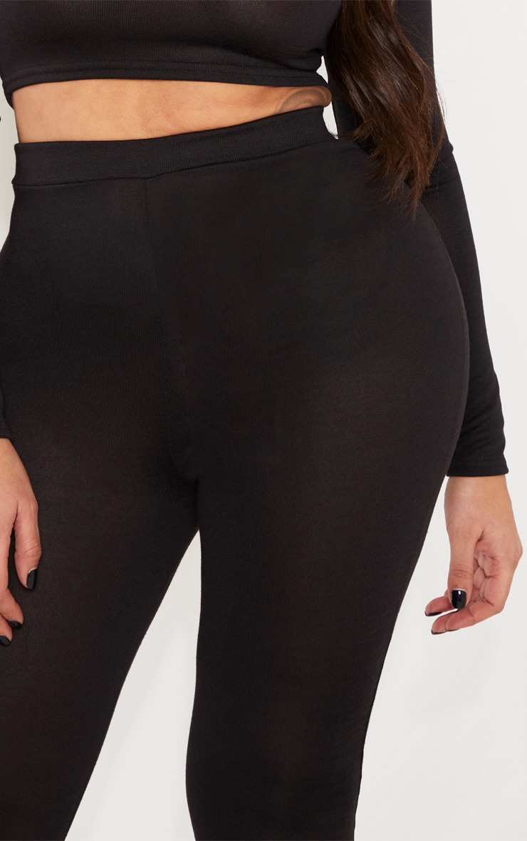 Shape Black Jersey Leggings 5
