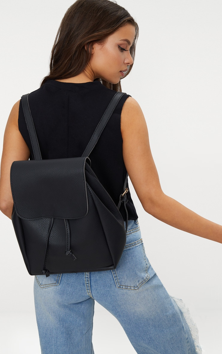 Black Large Backpack 1