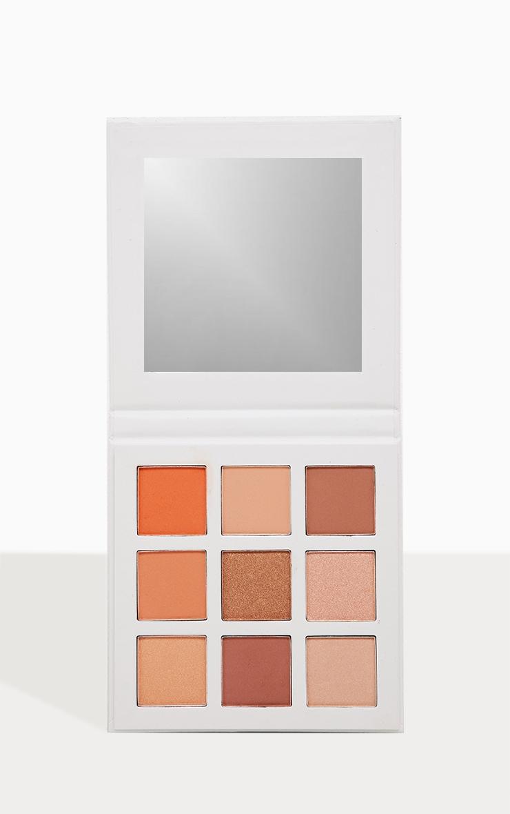 Make Up By Polly Warm Burgundy Nine Eyeshadow Palette 1