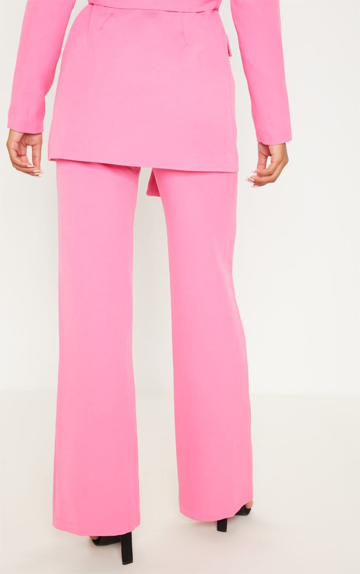 Pink Wide Leg Trousers 4