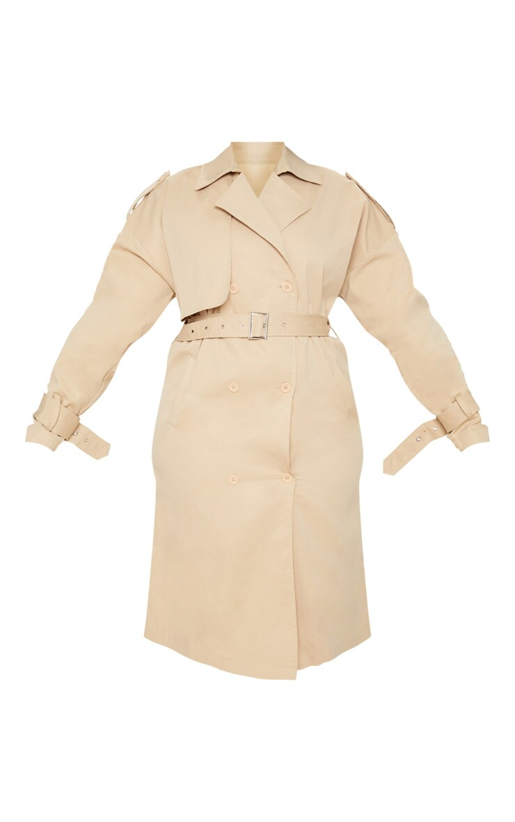 Plus Stone Trench Coat 3