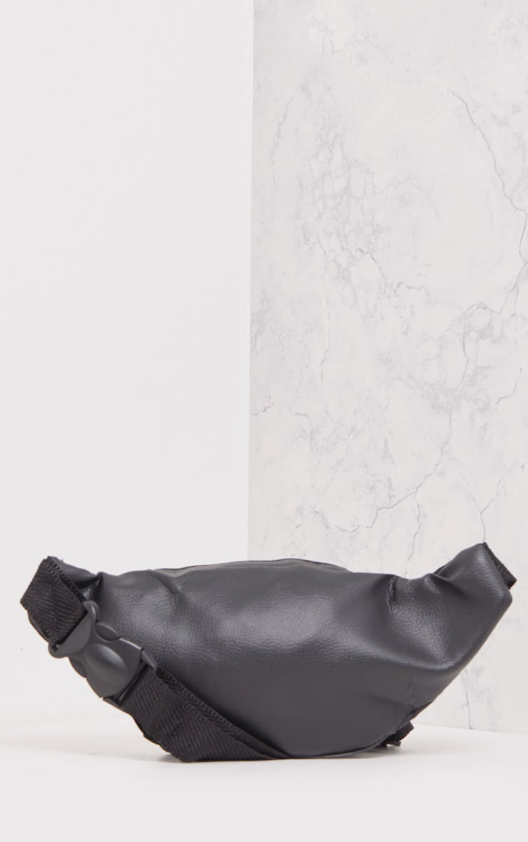 Annake Faux Leather Bum Bag Plain 5