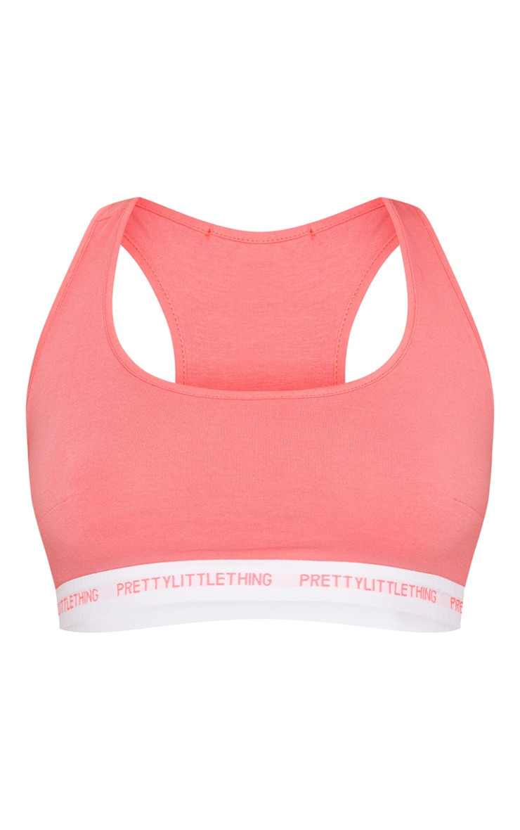 PRETTYLITTLETHING Pink Sports Bra 3