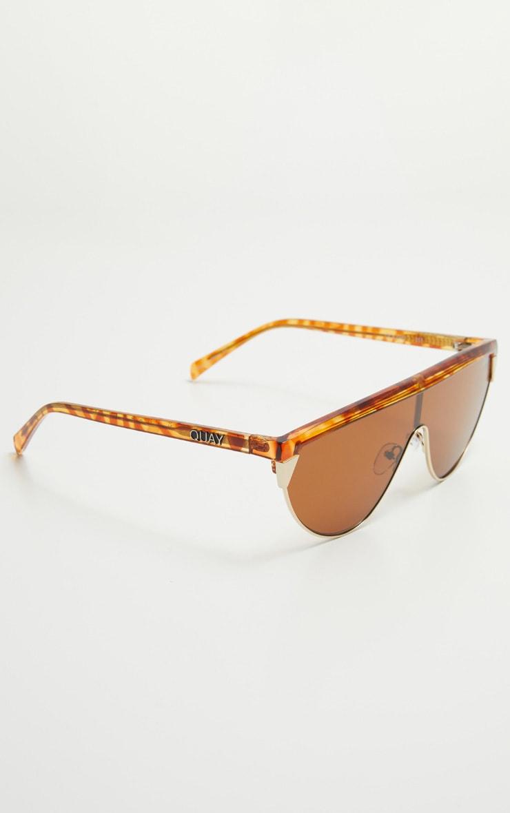 QUAY AUSTRALIA Tortoiseshell X Elle Ferguson Collab Goldie Sunglasses 3
