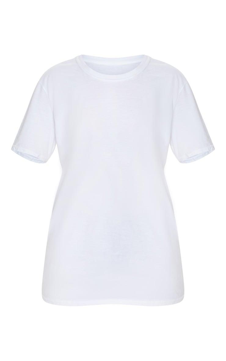 Tee-shirt blanc oversize à slogan 1989 World Tour 3