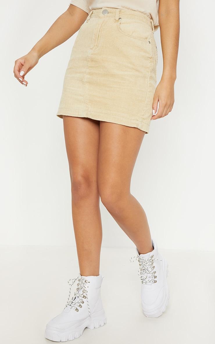 Stone Jumbo Cord Skirt 2