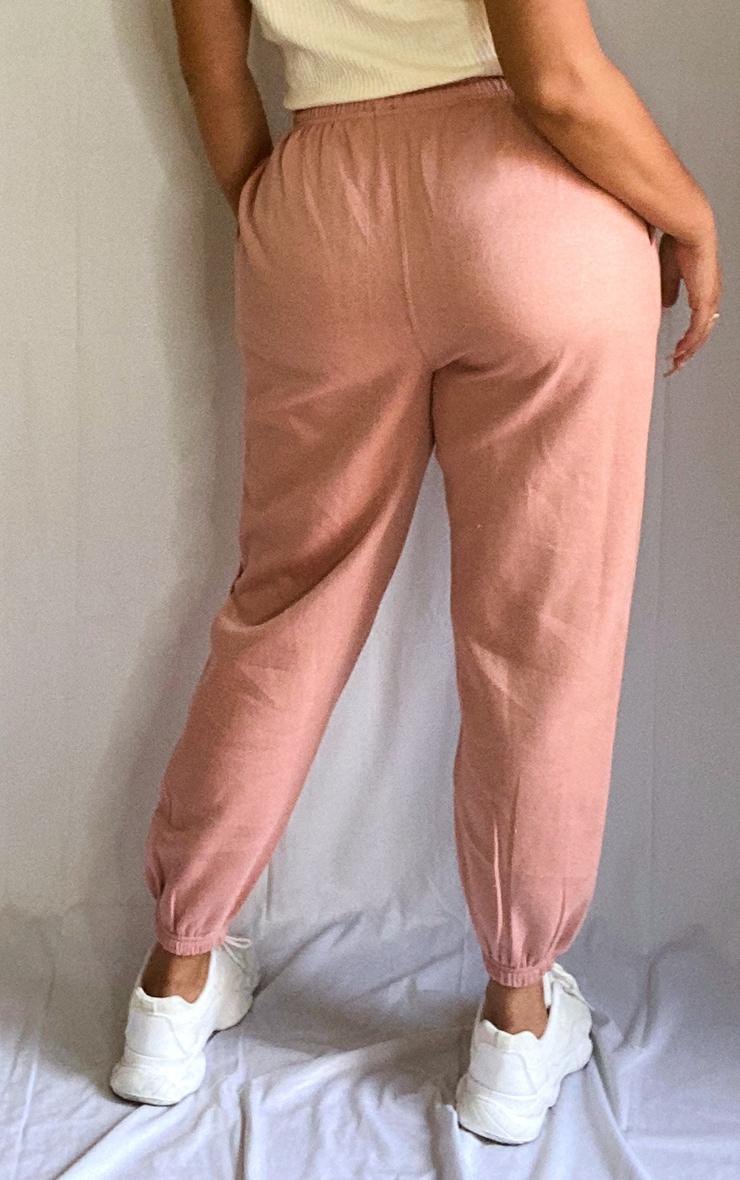 Plus Pink Toggle Waist Cuff Hem Jogger 3