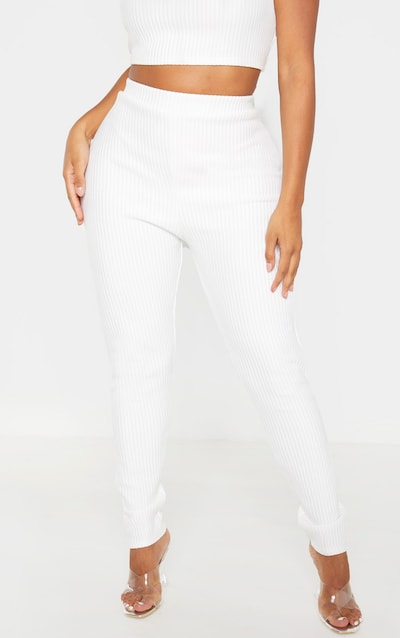Shape Cream Jumbo Rib Leggings