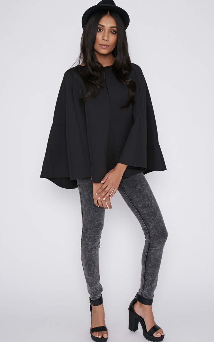 Dawn Black Cape  3
