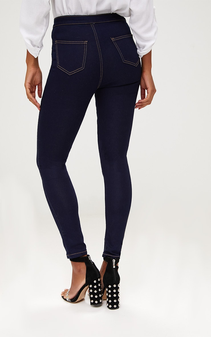 Indigo High Waisted Disco Jean 4