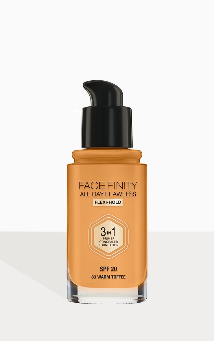 Max Factor Facefinity All Day Flawless Foundation Warm Toffee 3