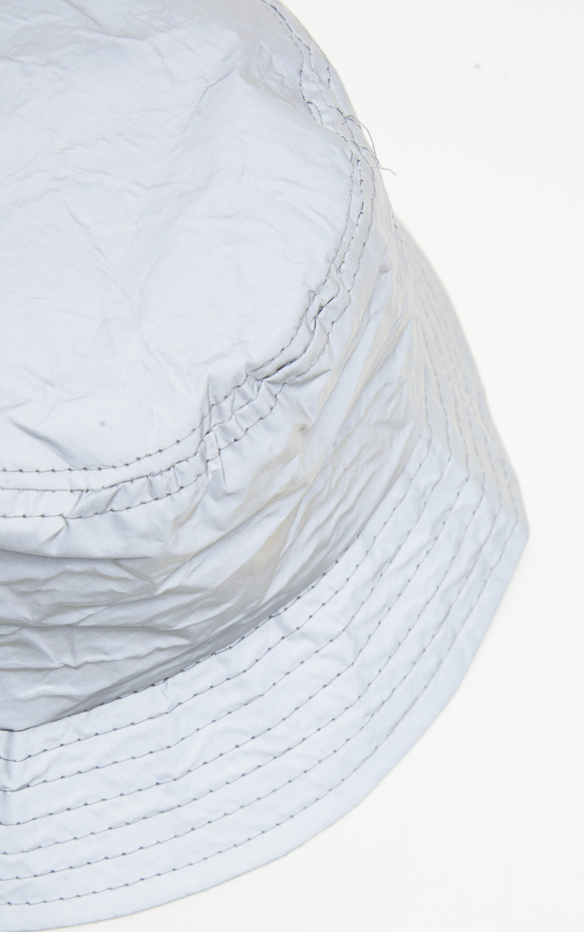 Grey Reflective Bucket Hat 3