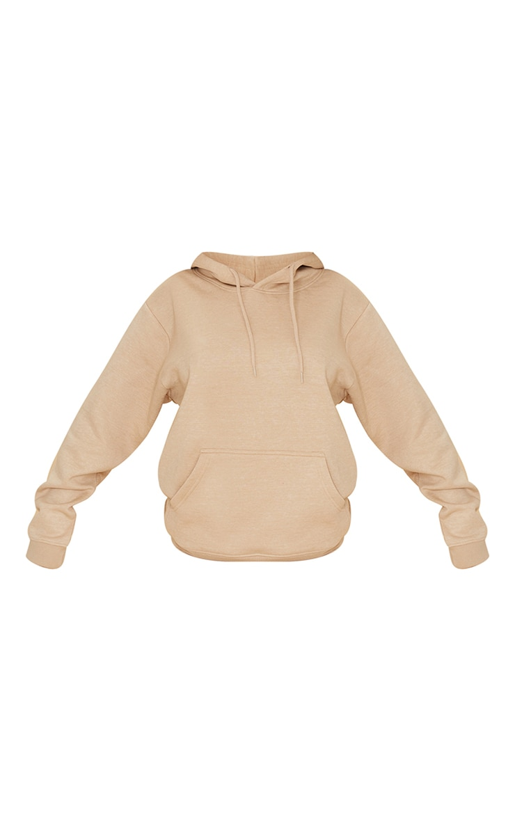 Recycled Sand Oversized Sweat Hoodie 5