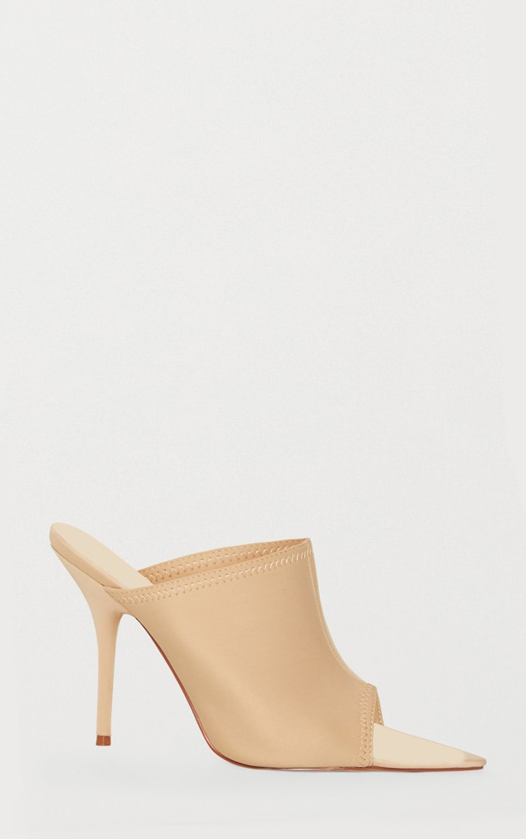 Taupe Extreme Point Mule  3