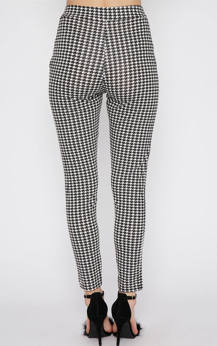 Camille Monochrome Dogtooth Trouser  4