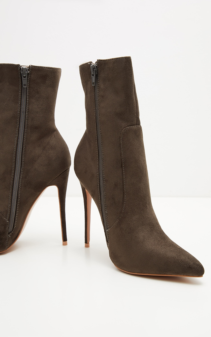 Khaki High Point Ankle Boot  3