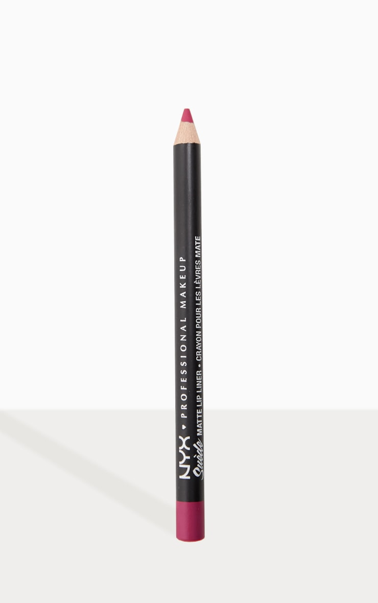 NYX Professional Makeup Suede Matte Lip Liner Sweet Tooth 1