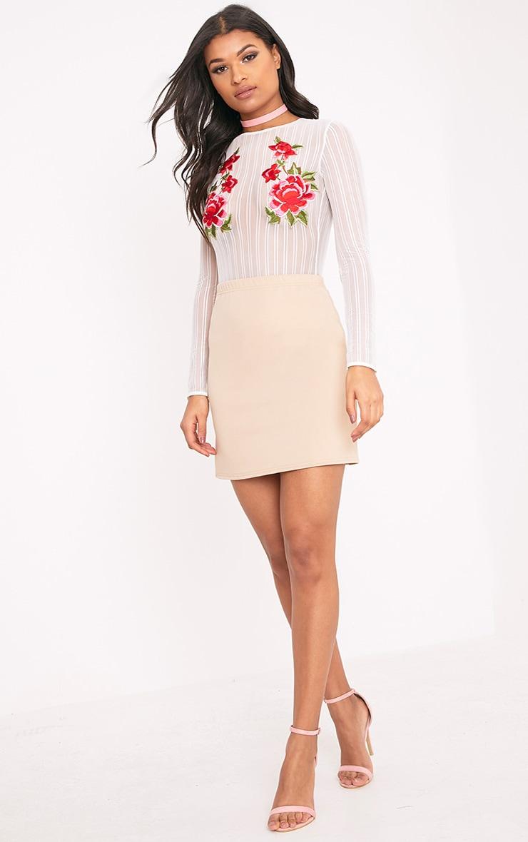 Jessica Stone A-Line Mini Skirt 5