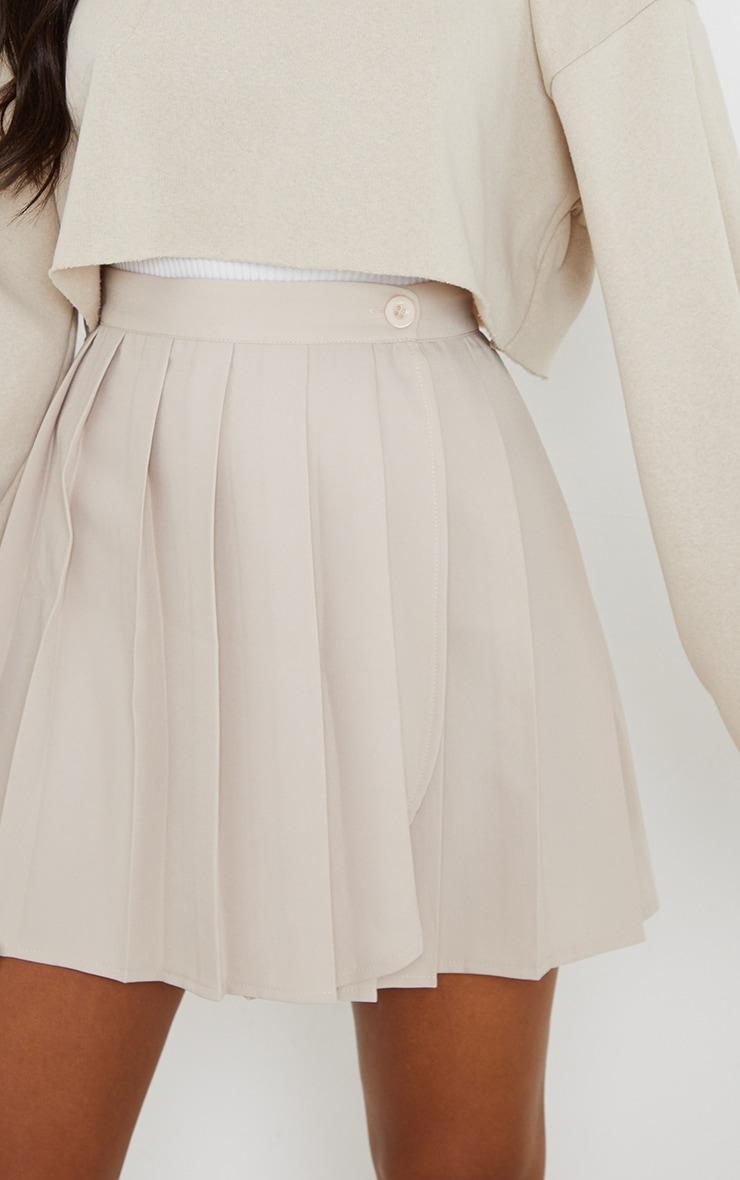 Stone Woven Skater Skirt 5