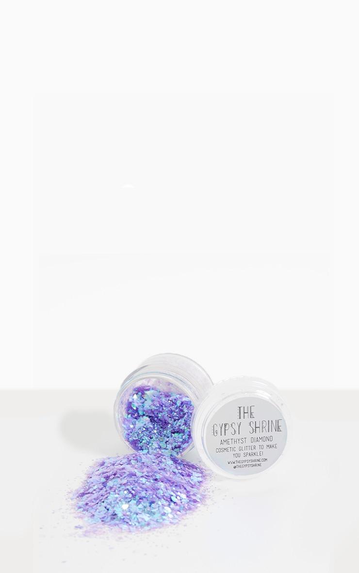 The Gypsy Shrine Amethyst Diamond Glitter Pot
