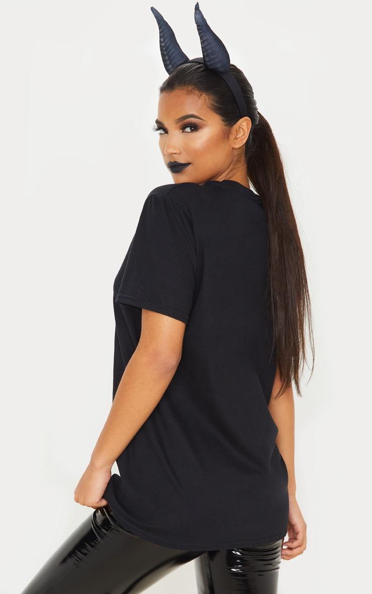 Black Disney Villains Oversized T Shirt 2