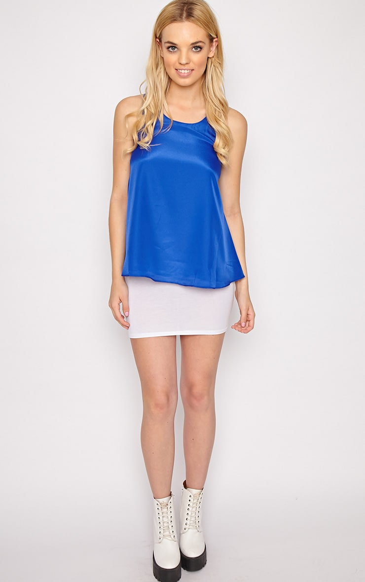Morgan Cobalt Swing Vest 4