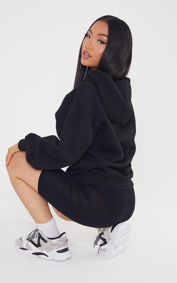 Petite Black Ultimate Oversized Hoodie 2