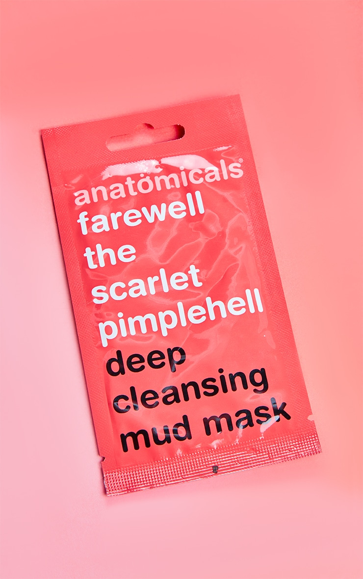 Anatomicals Farewell The Scarlet Pimplehell Face Mask 3
