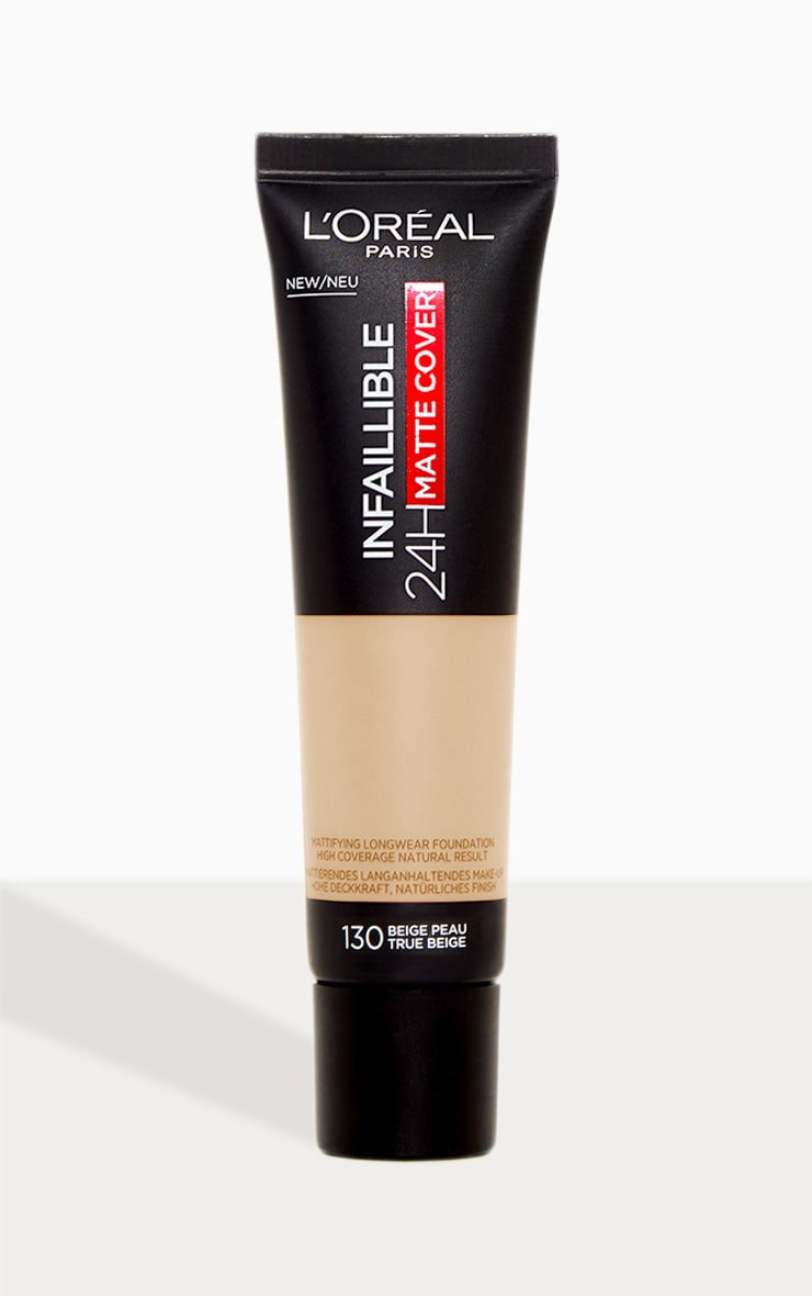 L'Oreal Paris Infallible 24hr Matte Cover Foundation 130 True Beige 1