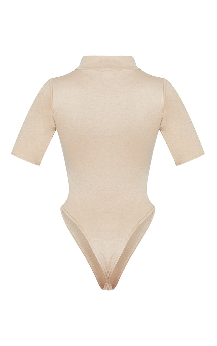 Stone High Neck Thong Bodysuit  4