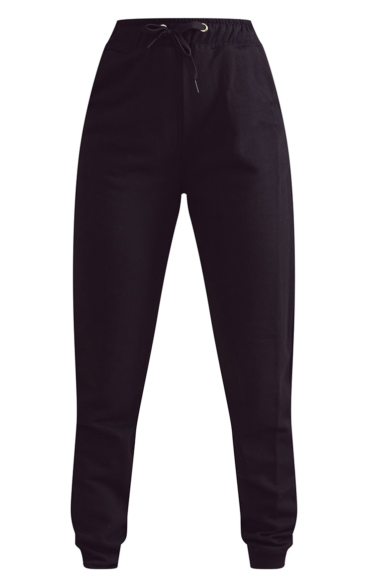 Black Basic Gym Sweat Jogger 5