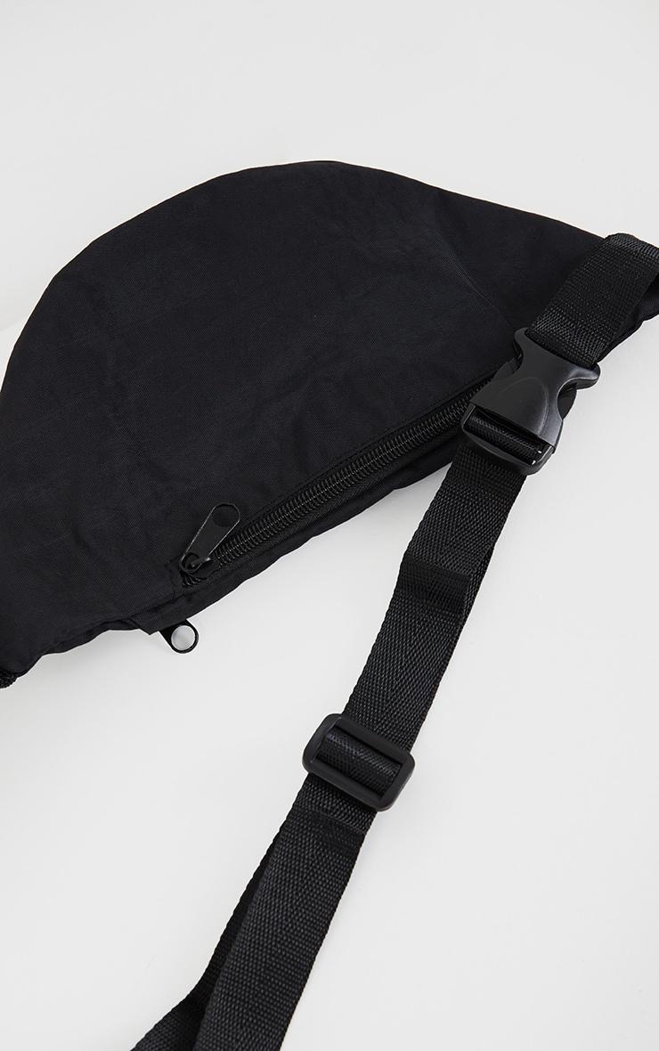 Black Small Bum Bag 3