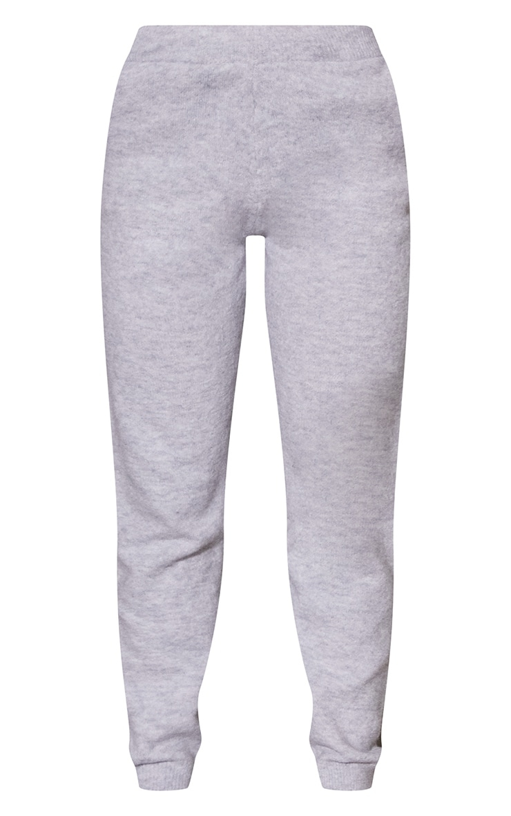 Light Grey Recycled Hoodie And Jogger Knitted Lounge Set 6