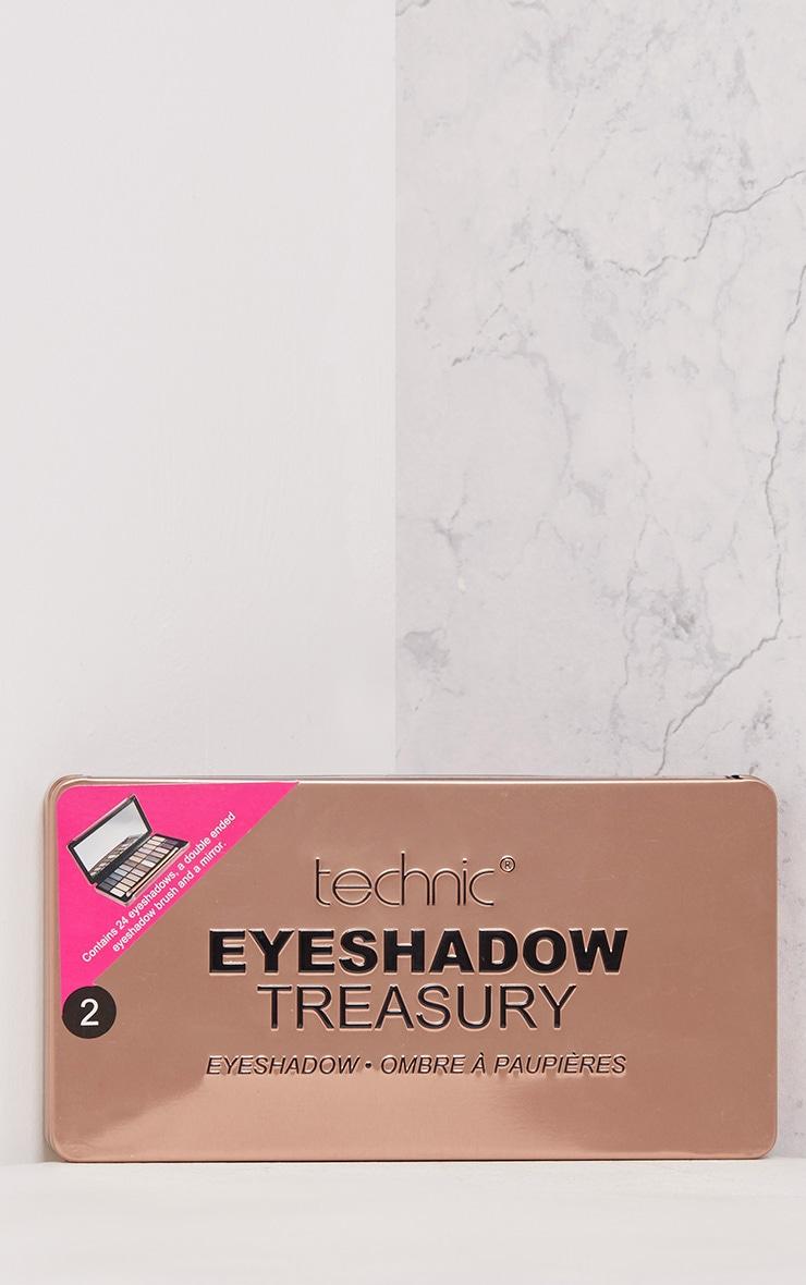 Technic Rose Gold Eyeshadow Treasury  2