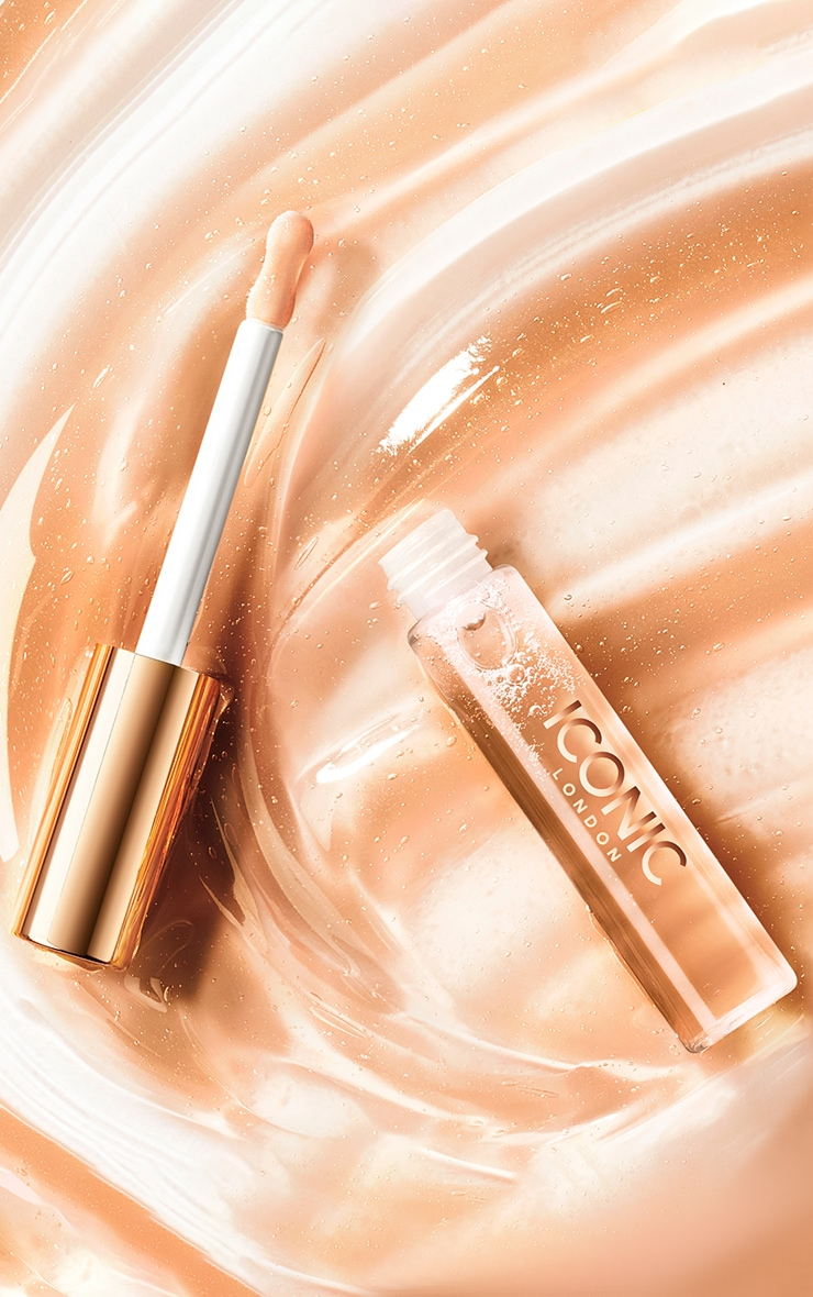 Iconic London Lustre Lip Oil Queen Bee Nude