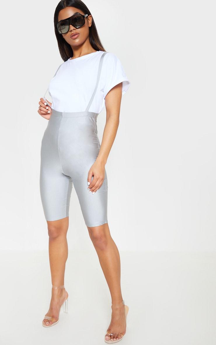 ca2658b92abef0 Short-legging disco gris style salopette