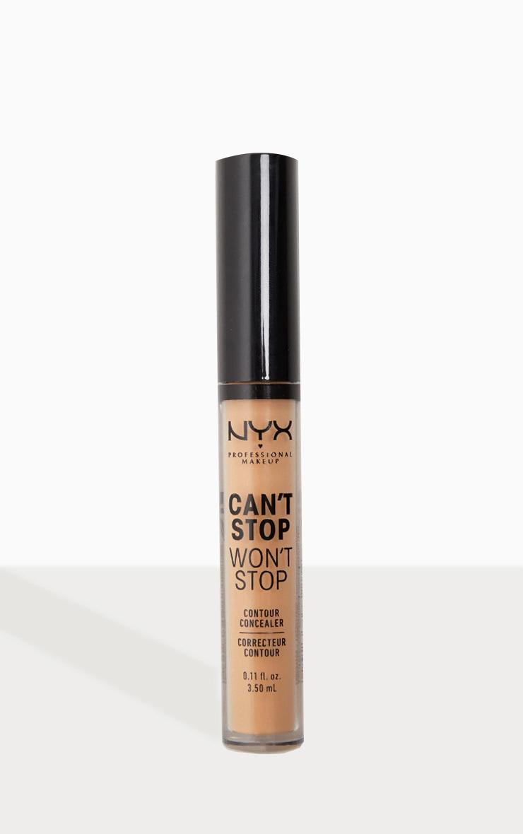 NYX Professional Makeup - Correcteur contour Can't Stop Won't Stop - Soft Beige 1