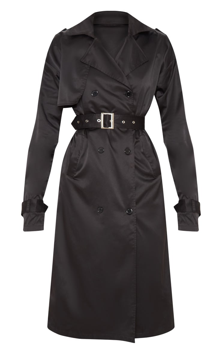 Black Trench Coat  3