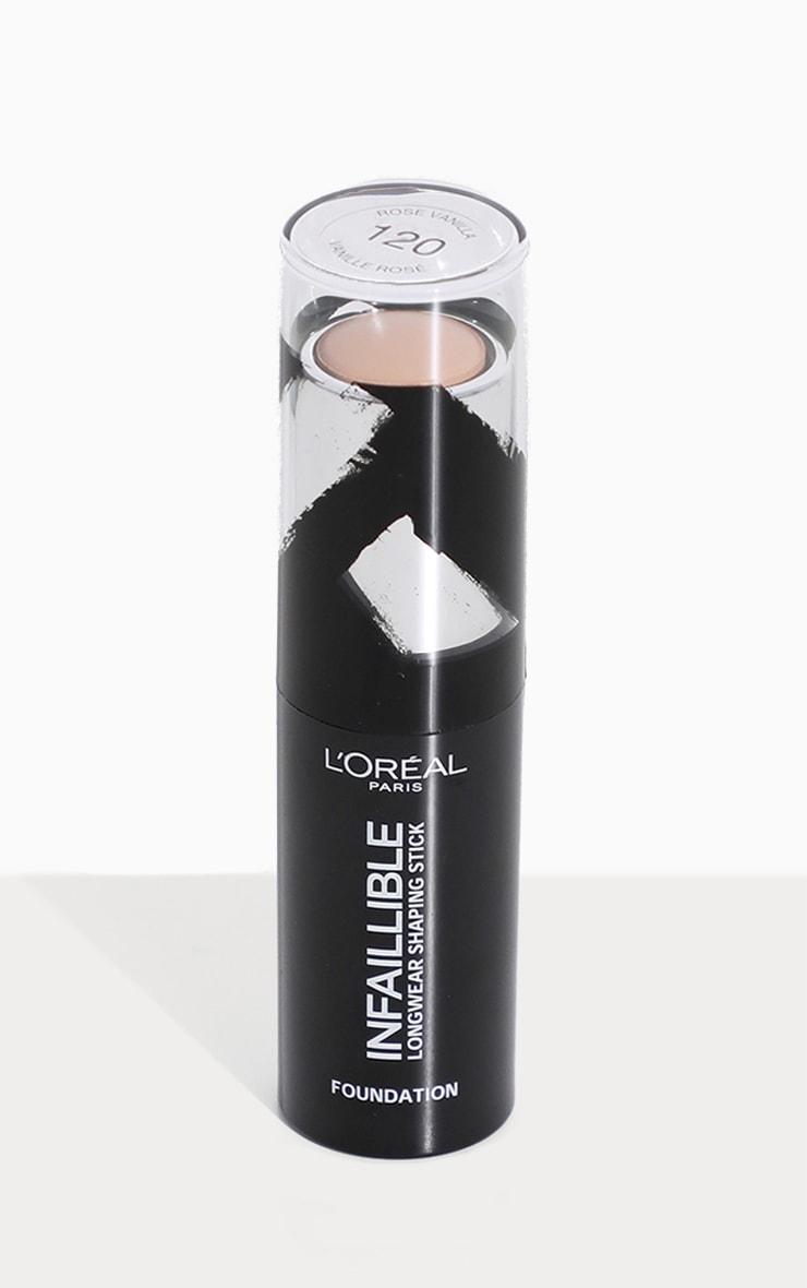 L'Oréal Paris Infallible Shaping Stick Foundation 120 Vanilla Rose 2