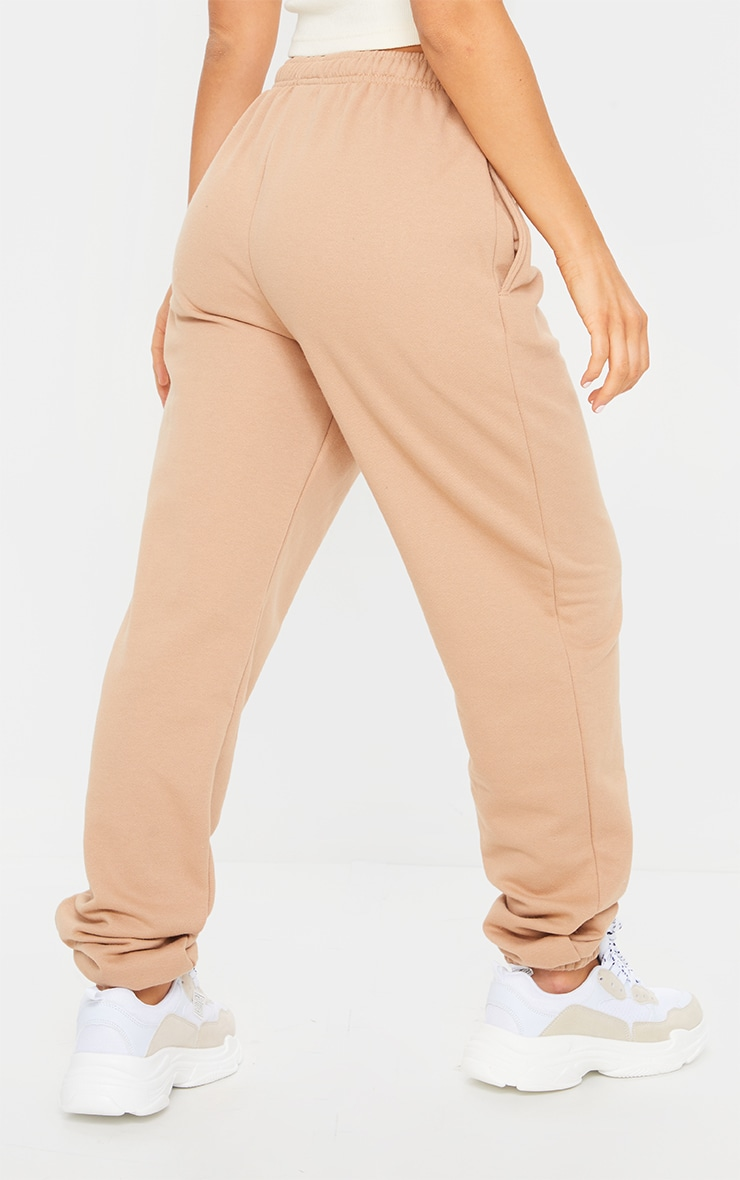Pantalon de jogging camel clair casual 3